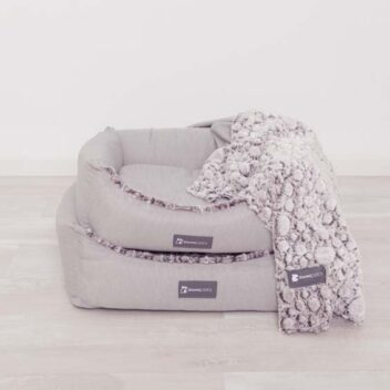 Colchón cuna perros gris - Dormitienda