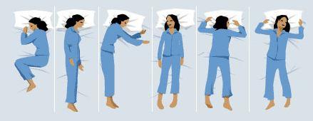 posturas para dormir - dormitienda